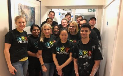 Corporate Volunteers Help Renovate Community Projects
